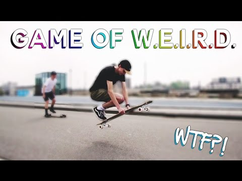 LONGBOARD Game Of W.E.I.R.D. | Weird Tricks Only