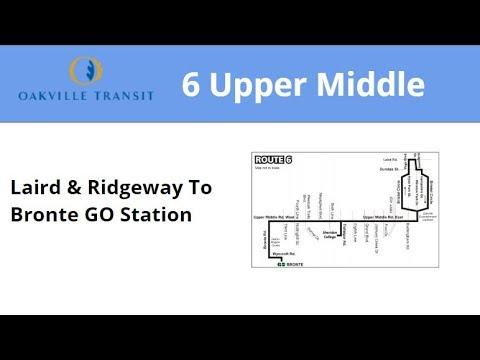 Oakville Transit 2009 NFI D40LFR #9110 On 6 Upper Middle (Laird & Ridgeway To Bronte GO)