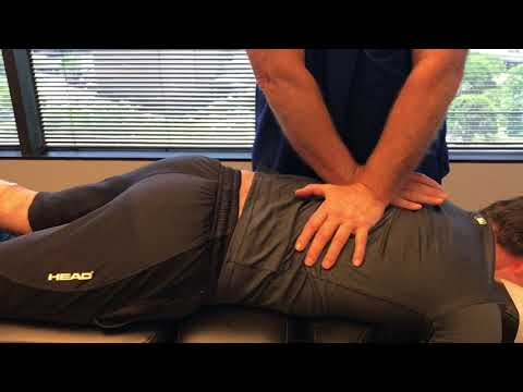 Houston Chiropractor Dr Gregory Johnson Adjust Simple Mechanical Back Pain