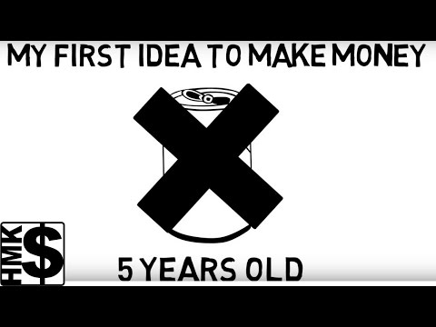 Draw My Life: The How To Make Money As A Kid Story