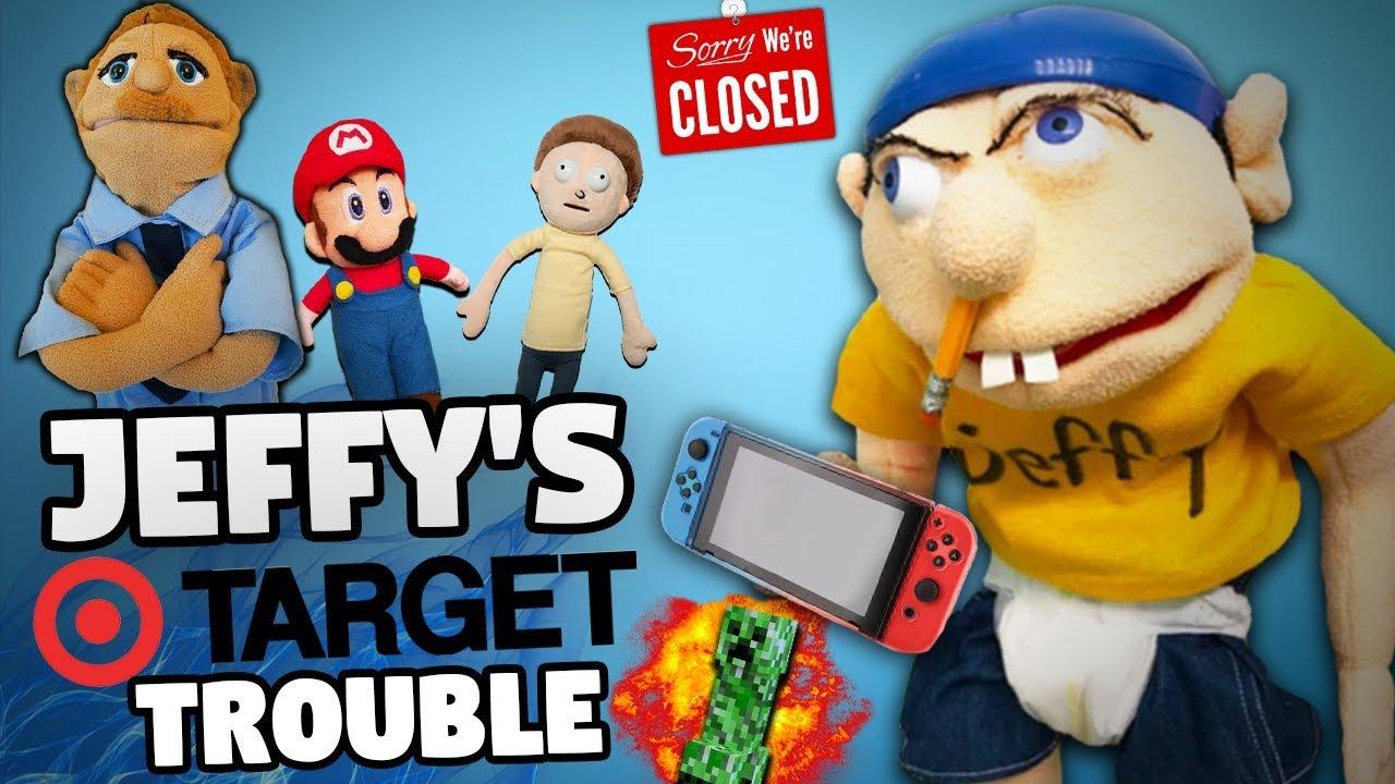 SML Parody: Jeffy's Target Trouble!
