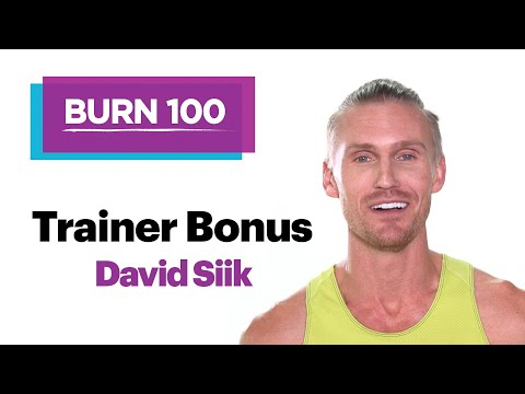 David Siik on Why He Loves Treadmill Training–Quick Workout Routine–SELF's Burn 100 Calories