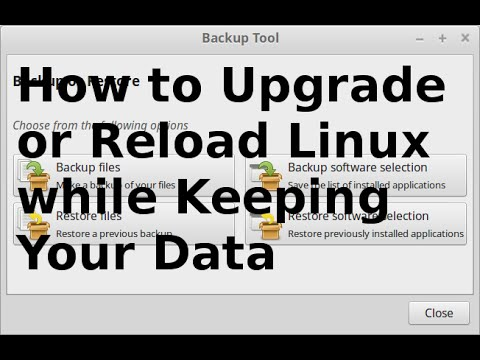 How to Upgrade or Reload Linux while Keeping Your Data.