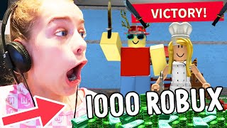 WIN $1000 ROBUX for MURDER MYSERTY 2 champion w/ The Norris Nuts