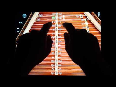 D550 MIDI Hammered Dulcimer MIDI Controller for iPad