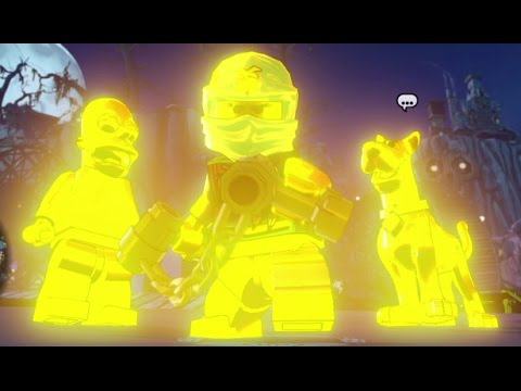 LEGO Dimensions - Gold Characters Cheat (All Hail King Homer Red Brick Unlock + Showcase)