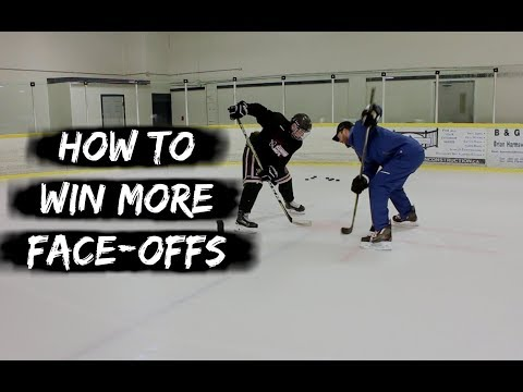HOW TO WIN MORE FACE-OFFS IN HOCKEY