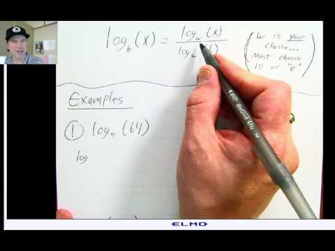 Log Change of Base Formula