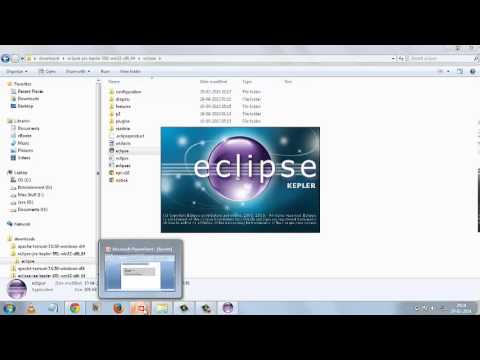 Servlet Tutorial 1: Setting up, Download & Install Apache Tomcat & Eclipse.