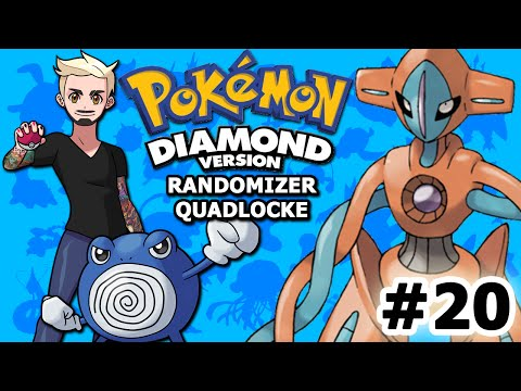 IS MY DESTINY... DEOXYS? | Pokémon Diamond Randomizer Quadlocke Part 20