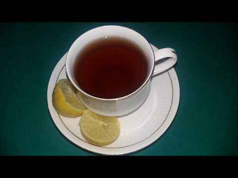 नींबू की चाय LEMON TEA