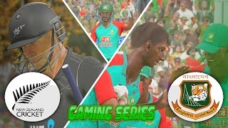 DON BRADMAN CRICKET 17 - BANGLADESH TOUR OF NEW ZEALAND 2016/17 - 1ST ODI