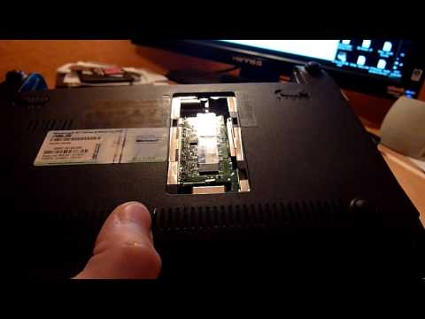 Asus Eee PC 1001PX RAM Upgrade and HDD Changing