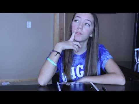 Things I Think About In School! | Annie Farber