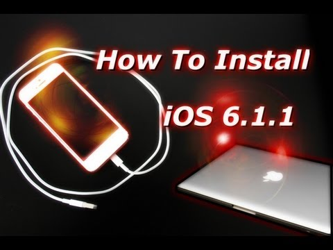 How To Install iOS 6.0.1 iPhone 5 and iPod Touch 5th Generation - UPDATE/BUG FIX