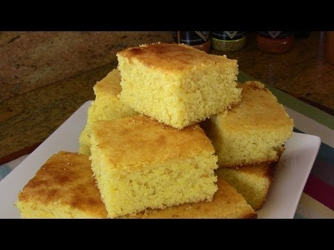 Holiday Series: Sweet Cornbread -Super Easy Recipe |Cooking With Carolyn|