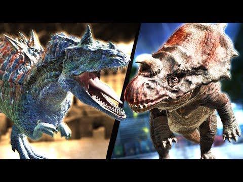 NEW JURASSIC WORLD HYBRIDS + EPIC LEVEL DINOSAUR - Jurassic World