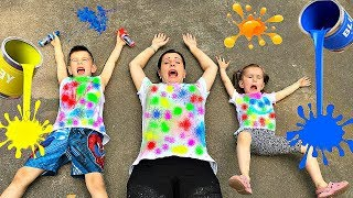 Learn Colors with Color T-SHIRT Educational video for Children Toddlers Babies by Joy Joy Lika