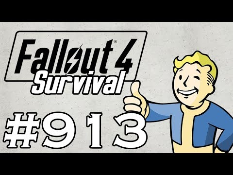 Let's Play Fallout 4 - [SURVIVAL - NO FAST TRAVEL] - Part 913 - Clothing Disappearance