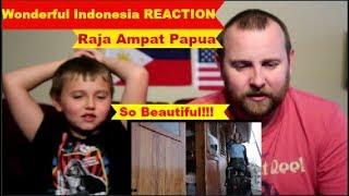 Wonderful Indonesia | Raja Ampat Papua | REACTION!!