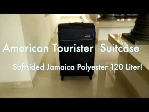 American Tourister Jamaica Polyester 80 cms Grey Softsided Suitcase (Quick Look)