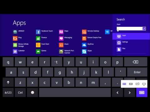 Surface On-Screen Keyboard