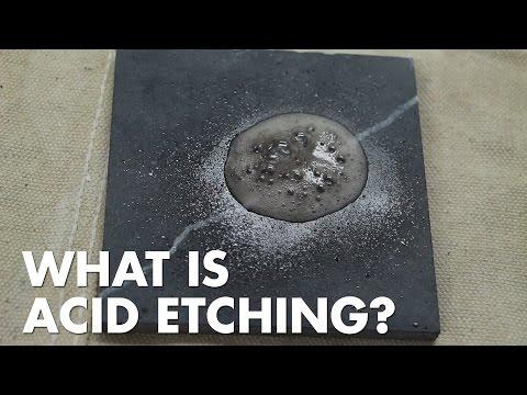Porous Materials - Common Problems: Acid Etching