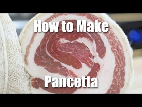 What is Pancetta & How To Make It | Video Recipe