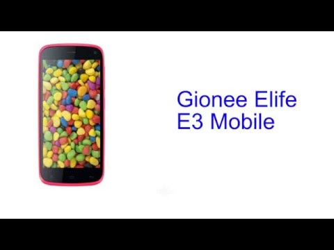 Gionee Elife E3 Mobile Specification [INDIA]