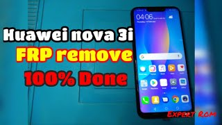 Bypass Frp Lock, Remove Google Account Huawei Nova 3i