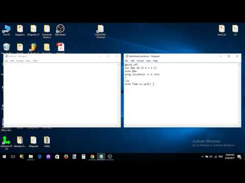 How to make a Countdown in Notepad