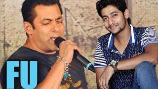 Salman Khan Sings For Sairaat Star Aakash Thosar