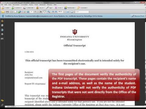 PDF Transcript Demo