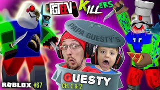 Roblox GUESTY & the KILLER FGTeeV! 🍕 Chapter 2 Pizza + Piggy Escaped our JAIL (#67)