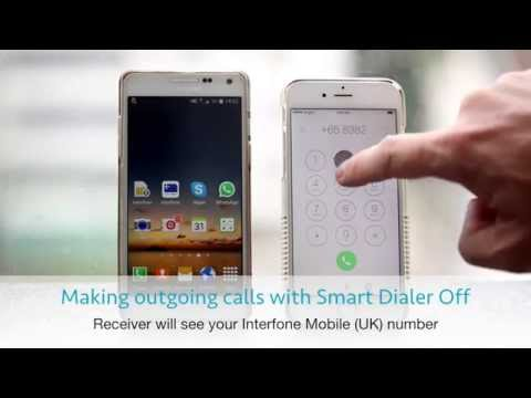 On iPhone: Disable Smart Dialer - making calls with UK number