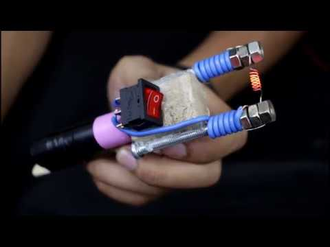 #lifehacks how to make electric lighter with battery and hot wire