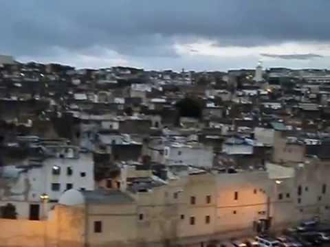 Azaan (call to prayer) in Fez, Morocco