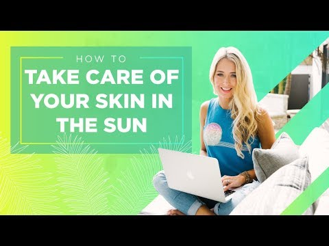 How Take Care of Your Skin While Out in the Sun