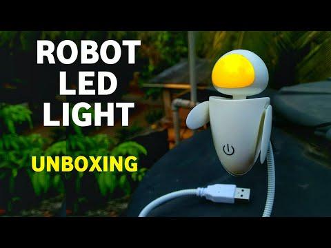 ROBOT LED NIGHT LIGHT UNBOXING