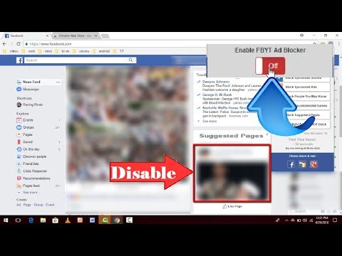 How to Turn Off or Remove Suggested Groups Pages & Block Ads in Facebook 2018
