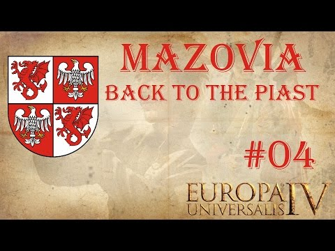 EU IV Back to the Piast achievement run as Mazovia 4 (The Cossacks)