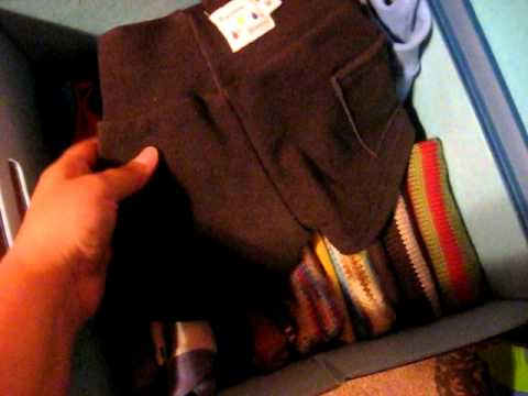 Cloth Diaper Stash Storage and Organization Part 1
