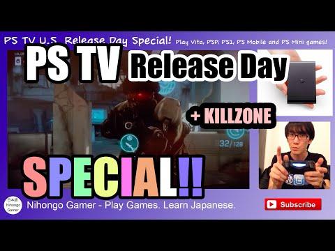 Playstation TV Special! - Killzone works but no NETFLIX!?