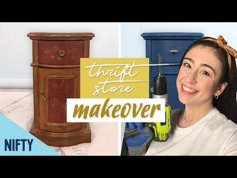 I Made-Over A Thrift Store Nightstand For Under $80!