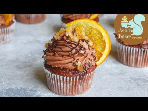 Chocolate Orange Cupcake Recipe | Acorn Bakes
