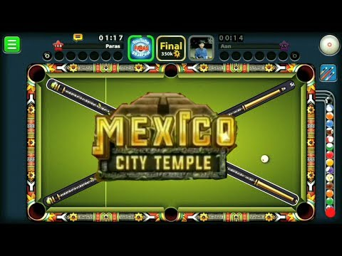 8 Ball Pool - | Mexico City Temple Tournament | w/ Galaxy Cue |  No Hack/ Cheats