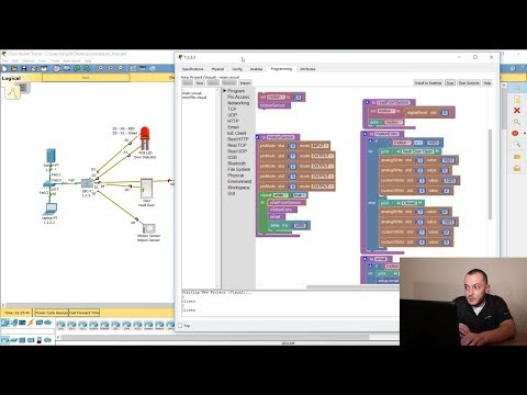 Blockly Programming - IoT - Cisco Packet Tracer | Part1