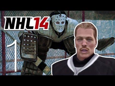 NHL 14 Live the GOALIE Life - Ep. 1: Starting Up