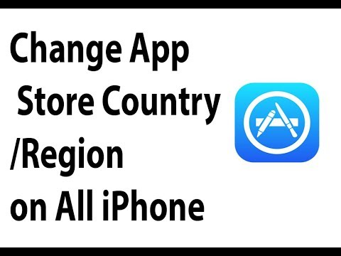 How to Change App Store Country/Region on iPhone 6/6s/7/7 Plus/8/8 Plus & iPhone X