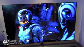 CES 2017 - Panasonic OLED TV [65EZ1000] and UHD Bluray Players [DMPUB400 and DMPUB300]